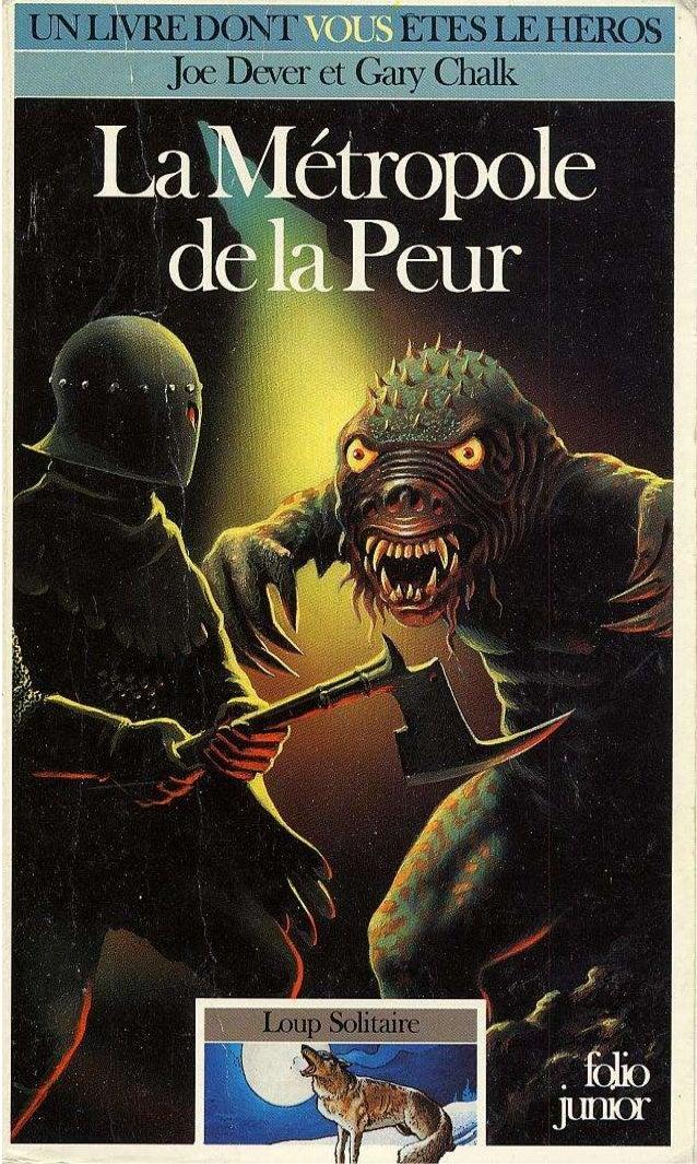 Titre original : The Cauldron of Fear © Joe Dever, 1987, pour le texte © Century Hutchinson Ltd. 1987, pour les illustrati...