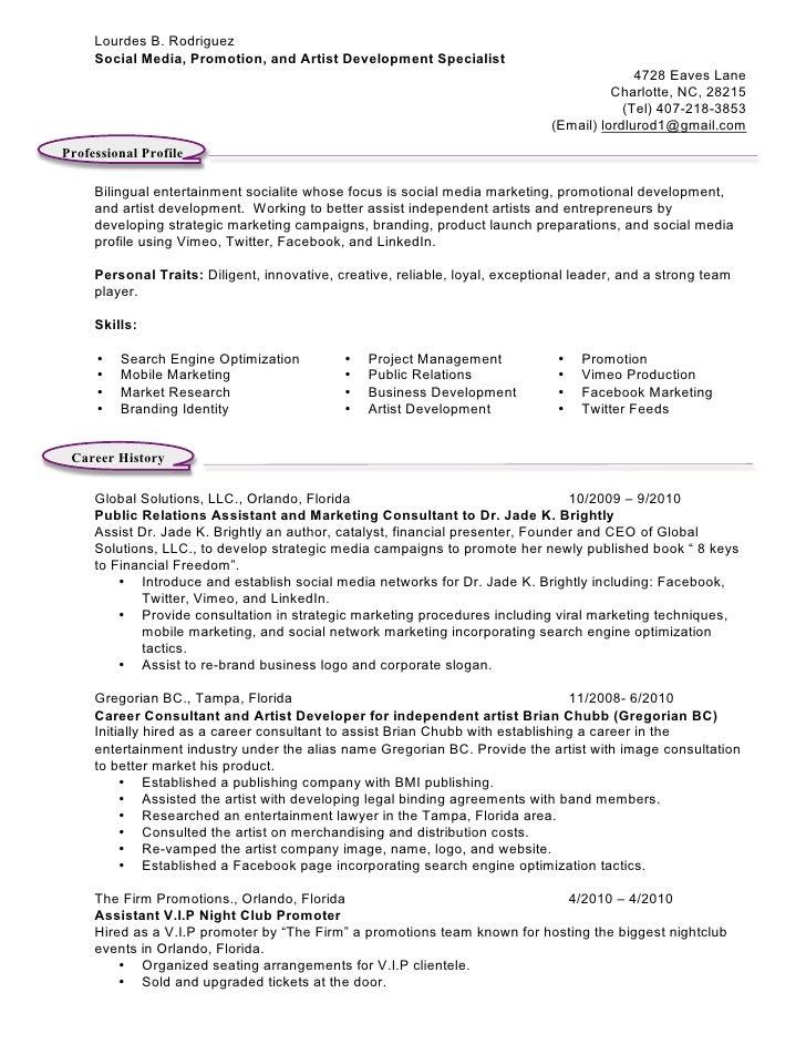 lourdes rodriguez master resume