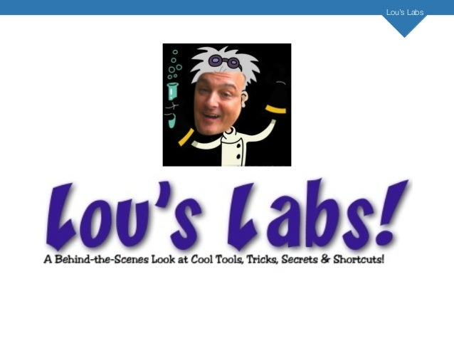 6 Core Self-Promotion Strategies (Lou's Labs Traning Webinar-Oct 18th)