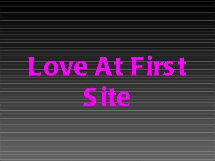 Loveatfirstsite