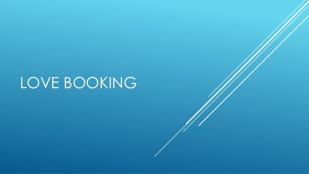 LOVE BOOKING