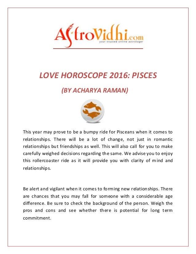 dating horoscope for pisces