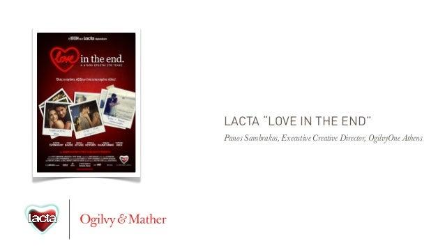 Lacta - Love in the end -  MIPTV
