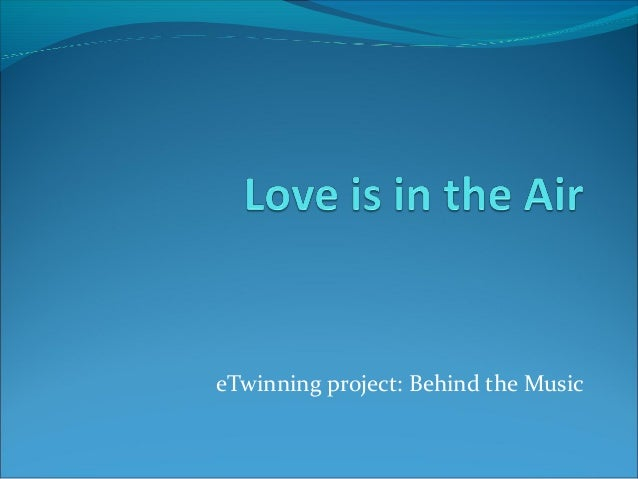 eTwinning project: Behind the Music