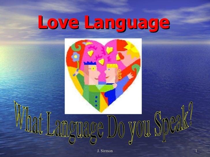 Love language presentation