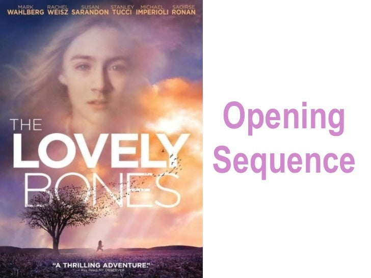 Lovely Bones Opening Sequence