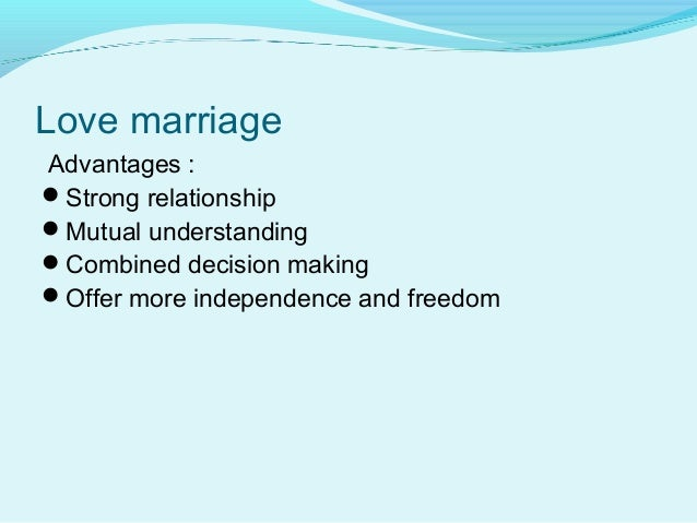 essay on live in relationship or arranged marriage Arranged marriage vs love marriage essay two people live for each other, and that marriage is built on this arranged marriage essay — it is not a.