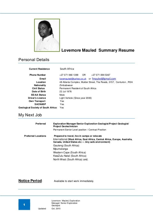 Mining Underground Electrician Sample Resume Development Associate Happytom Co Geologist Samples