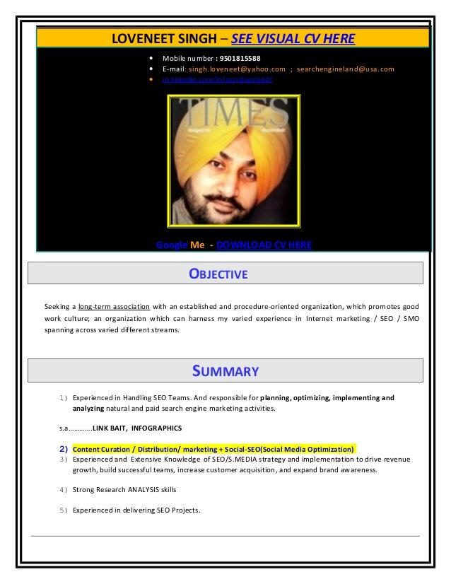 Loveneet singh - Sr.SEO/TL ➨ Social Media Analyst/Strategist ➨ Social SEO Specialist