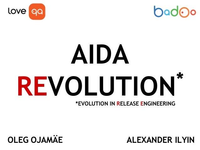 "Доклад Александа Ильина и Олега Оямяэ на конференции LoveQA. ""AIDA. Эволюция автоматизации работы с Git, JIRA и TeamCity""."