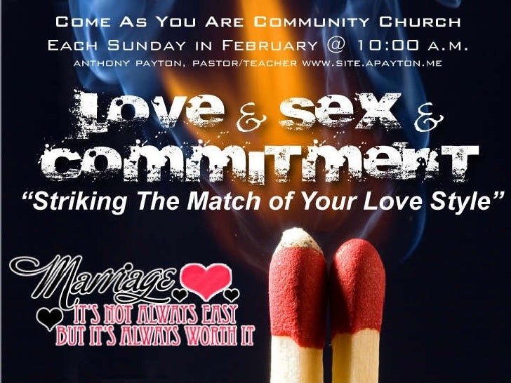 Love  Sex And  Commitment 1