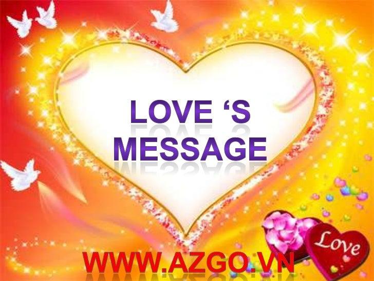 Love's message