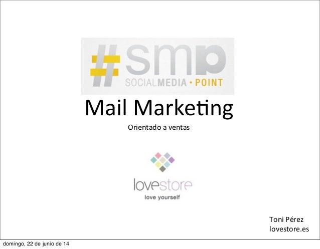 Lovestore   email marketing