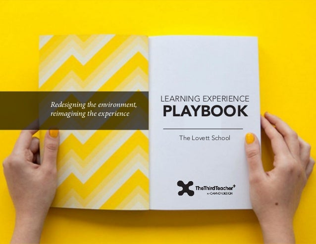 Redesigning the environment, reimagining the experience  LEARNING EXPERIENCE  PLAYBOOK The Lovett School