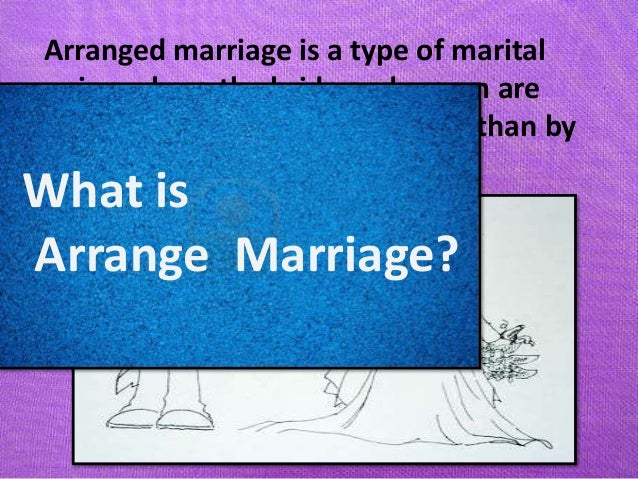 essay love marriage vs arranged marriage