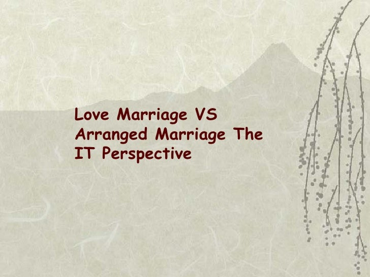 essay about love marriages
