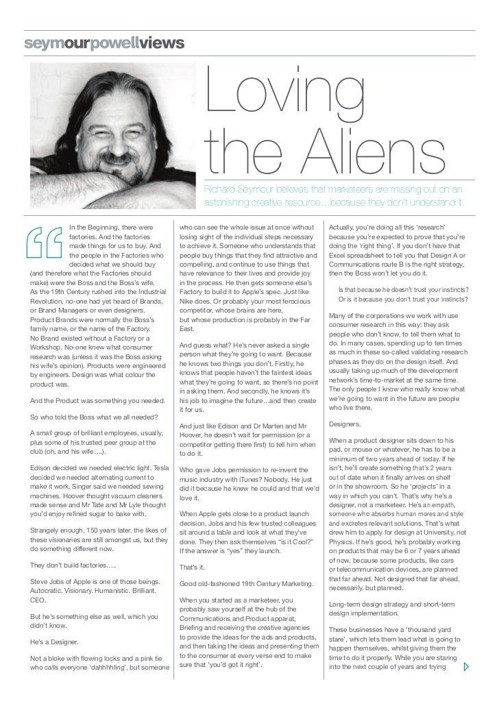 Loving                                                            the Aliens                                              ...