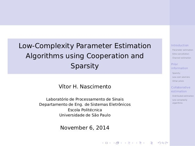 an introduction to parametric estimating