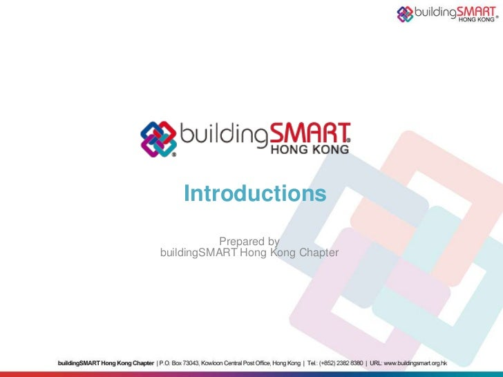 buildingSMART Hong Kong Introduction