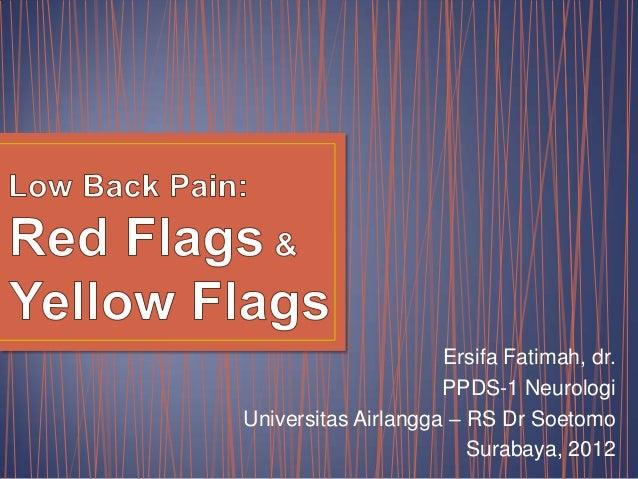 Ersifa Fatimah, dr.                     PPDS-1 NeurologiUniversitas Airlangga – RS Dr Soetomo                        Surab...