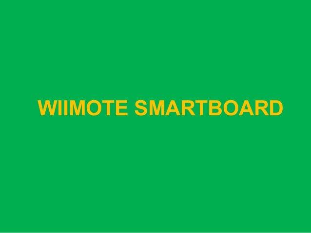 WIIMOTE SMARTBOARD
