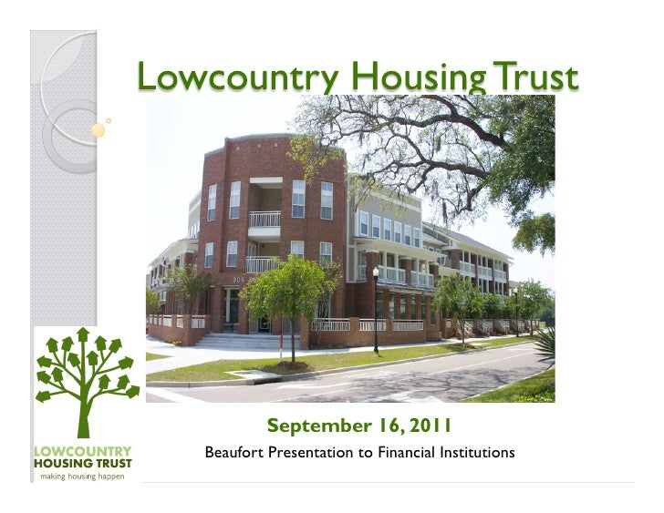 September 16, 2011Beaufort Presentation to Financial Institutions