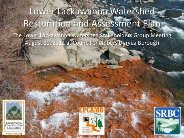 Lower Lackawanna Watershed Assessment and Restoration Plan