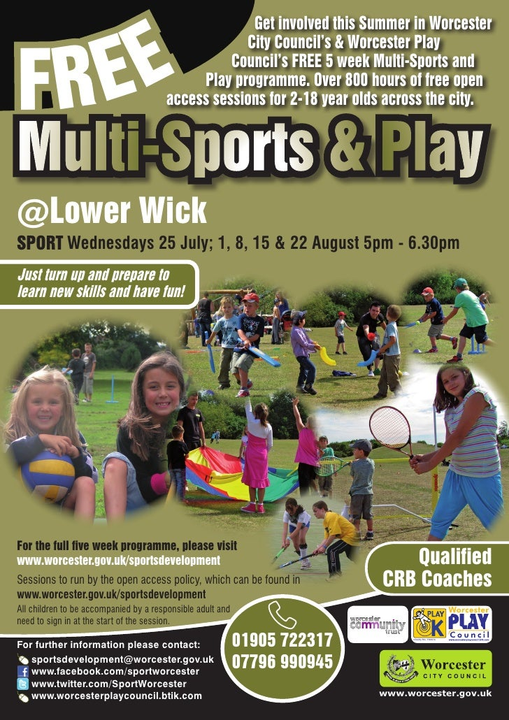EE                                                    Get involved this Summer in WorcesterFR                             ...
