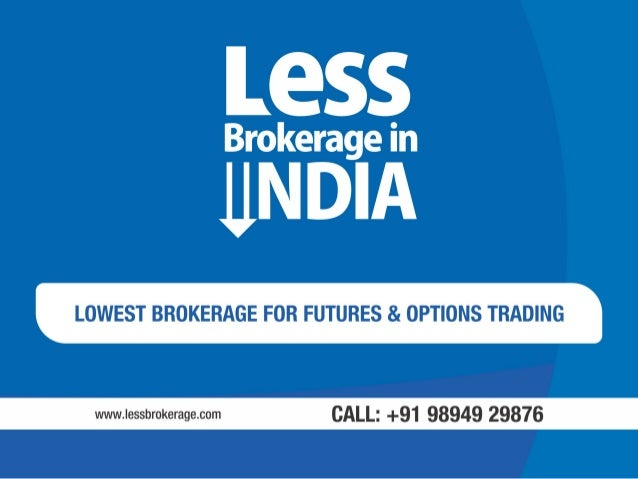 Option trading brokerage rates