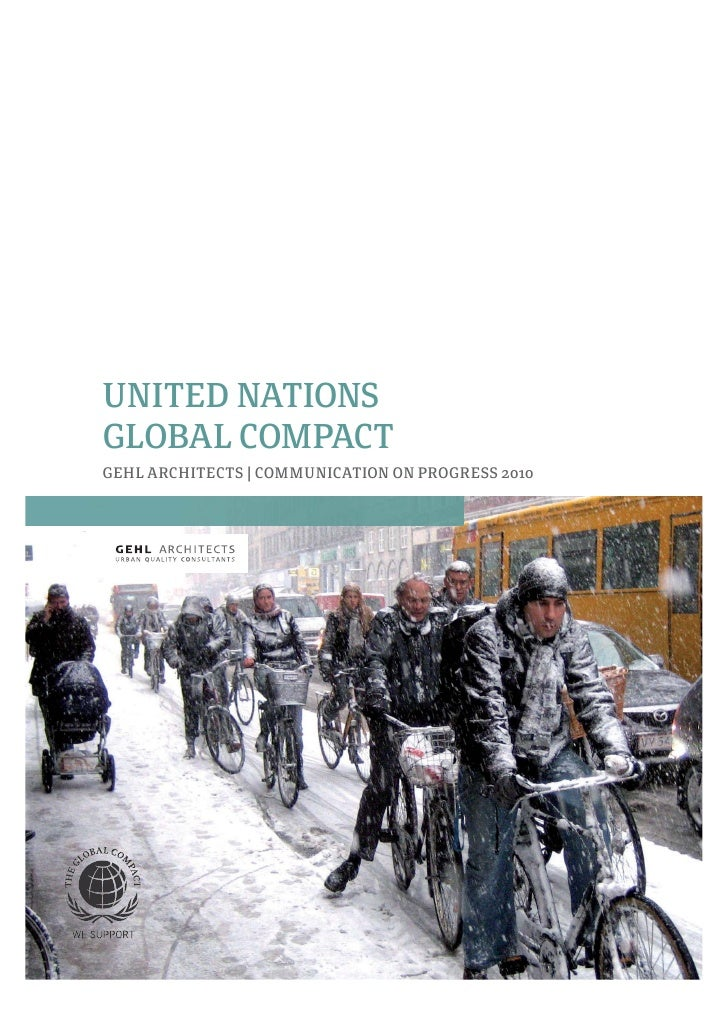 Gehl Architects UN Global Compact COP 2010