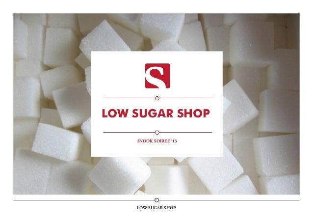 Low Sugar shop