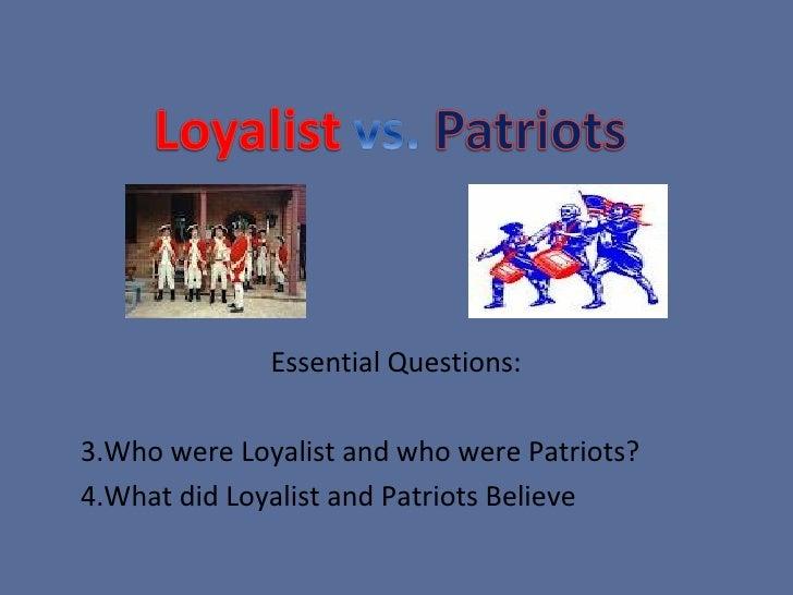American & British Revolution - Theses statement help?