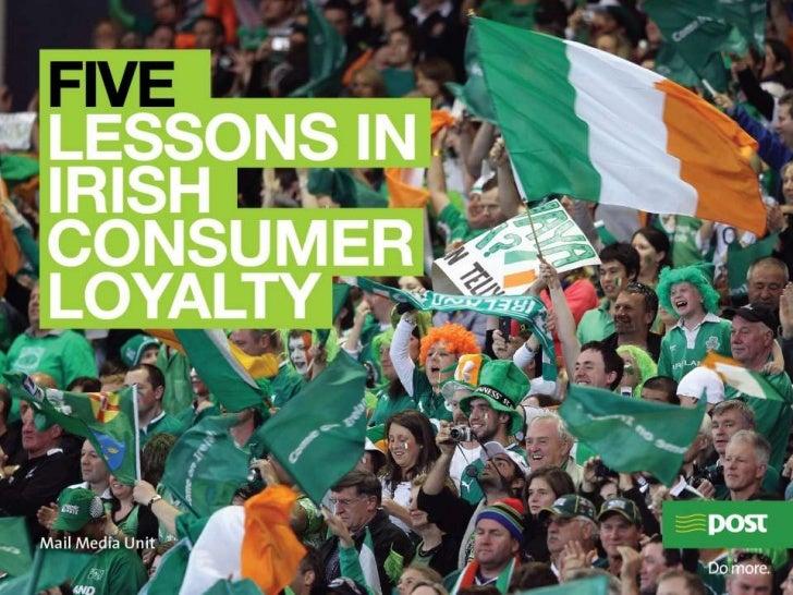 Loyalty & Irish Consumers - An Post Mail Media Unit