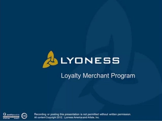 Loyalty Merchant Program Presentation