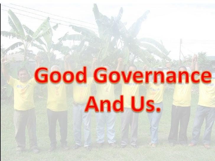 LP and Good Gove