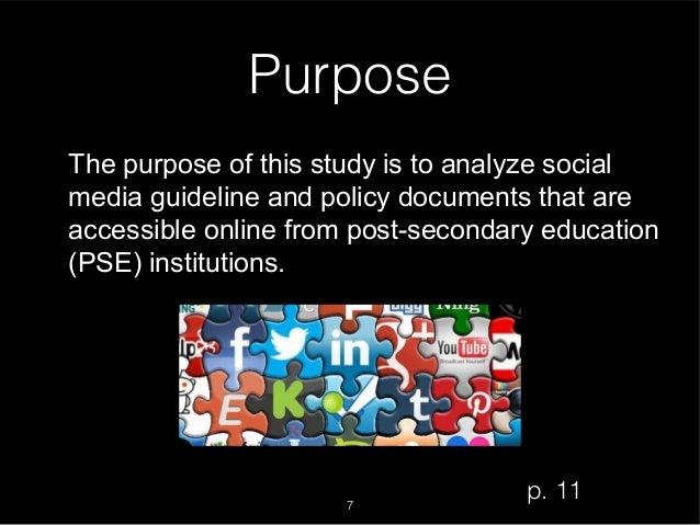 Purpose of a dissertation