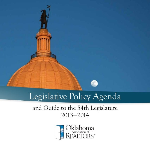 OAR Legislative Policy Agenda