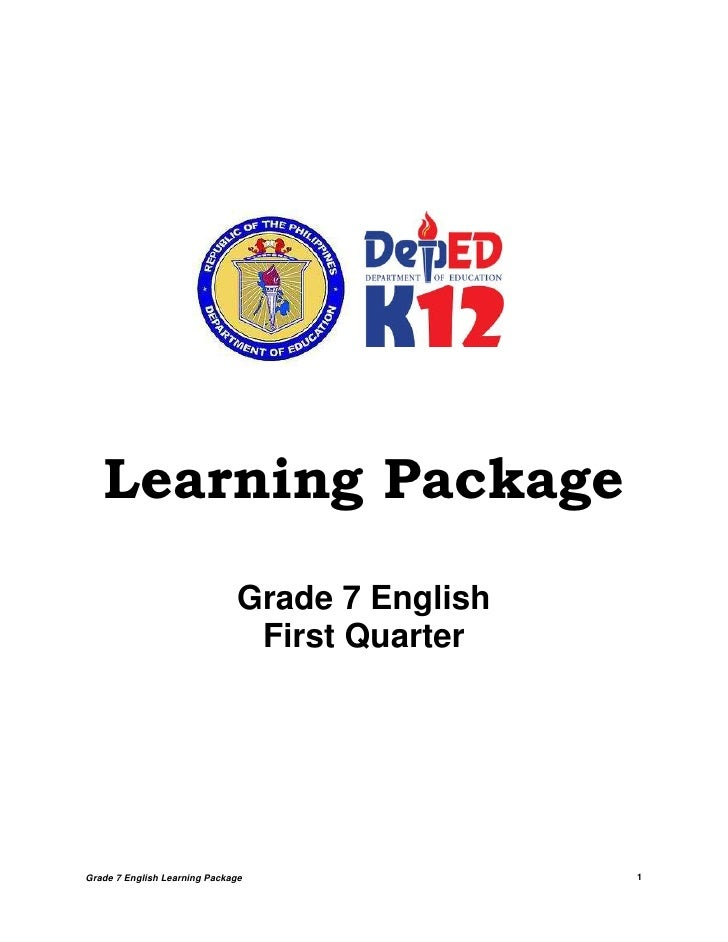 Lpfirstquartergrade7english 120603050825-phpapp02