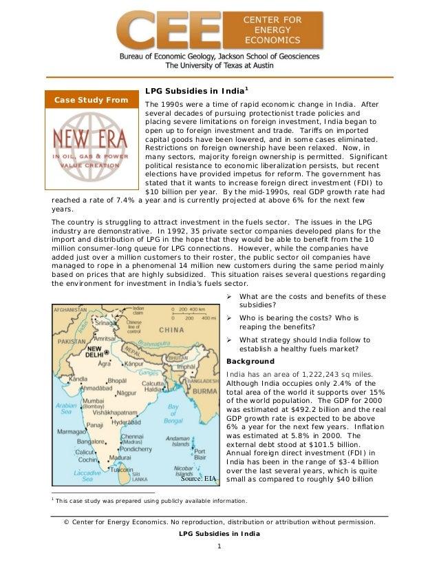 Lpg subsidies in_india