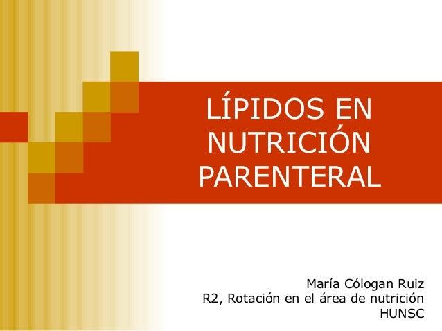lipidos nutricion: