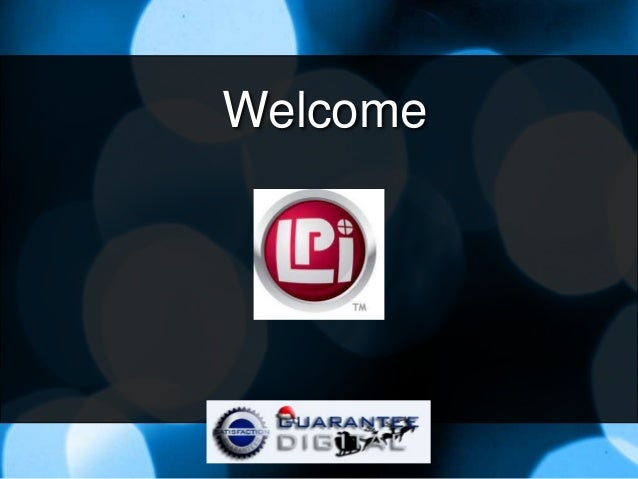 LPi Webinar for Sales Staff