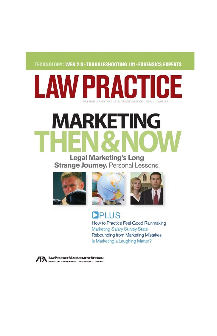TECHNOLOGY: WEB 2.0 •TROUBLESHOOTING 101• FORENSICS EXPERTS                        THE BUSINESS OF PRACTICING LAW OCTOBER/...