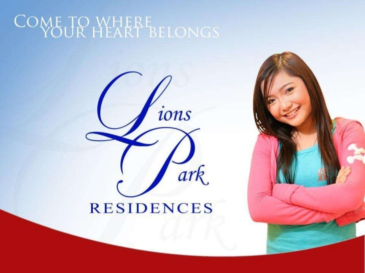 Project Overview•   The community that nurtures nature in urban living, Lions Park Residences that offers low-rise    cond...
