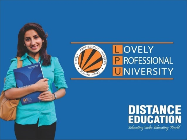 Lovely Professional University Distance Education