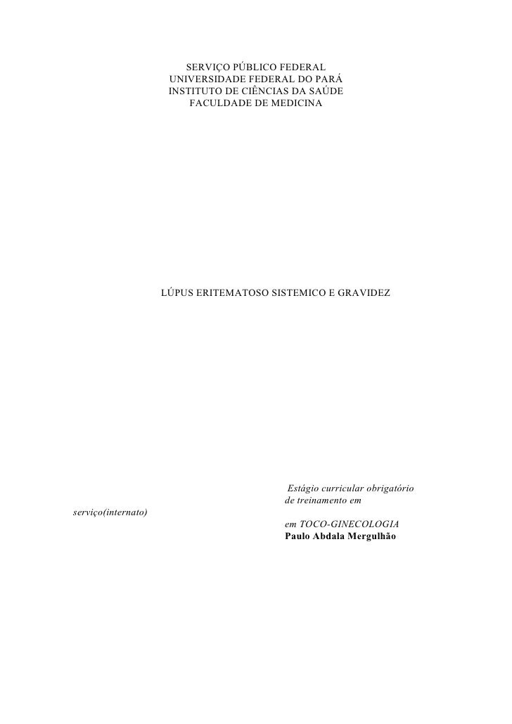 Lúpus eritematoso sistêmico na gravidez
