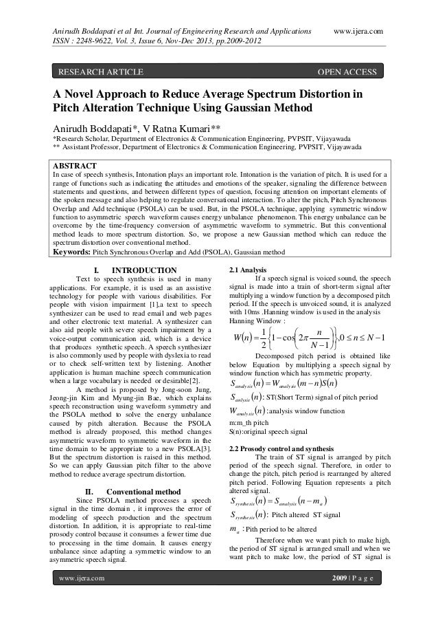 Anirudh Boddapati et al Int. Journal of Engineering Research and Applications ISSN : 2248-9622, Vol. 3, Issue 6, Nov-Dec 2...