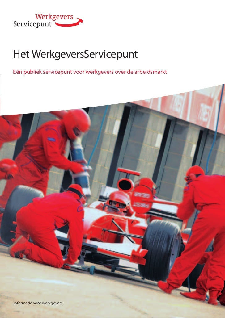 Het WerkgeversServicepuntEén publiek servicepunt voor werkgevers over de arbeidsmarktInformatie voor werkgevers