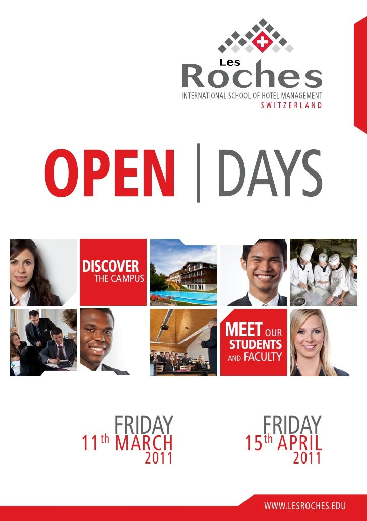 Les Roches Open Days 2011