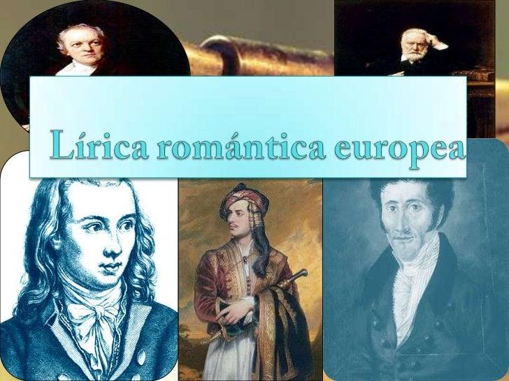 Lírica romántica