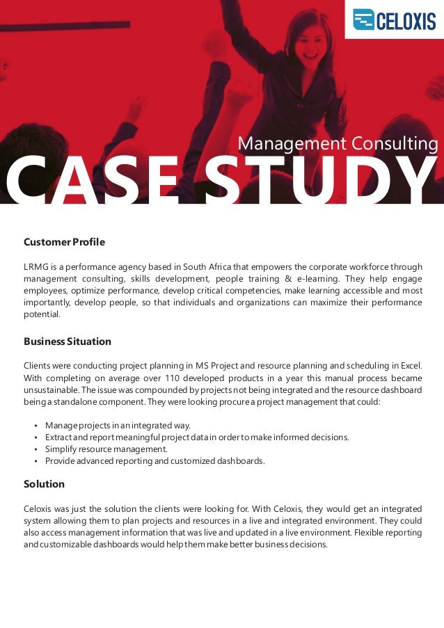 management consulting case study interviews Here's a list of case interview questions that i've how to succeed in management consulting solving test combined with a interviewer-led case study interview.